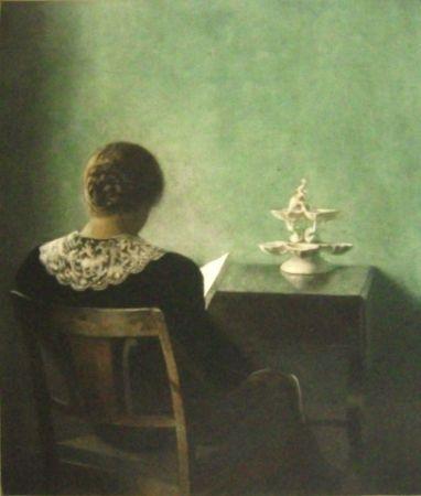 Manière Noire Ilsted - Woman Reading