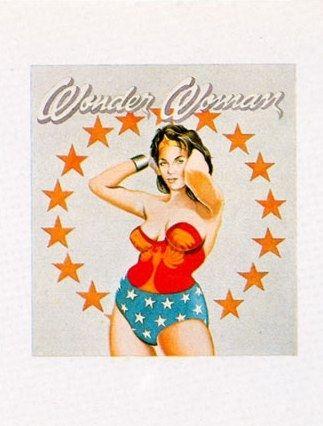 Lithographie Ramos - Wonder Woman