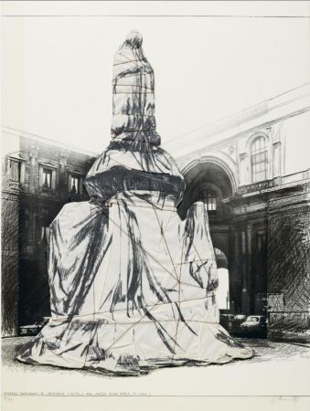 Multiple Christo - Wrapped Monument To Leonardo