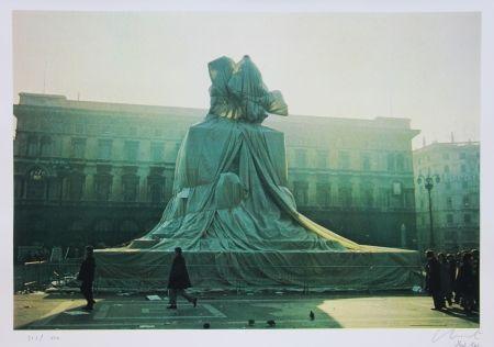 Offset Christo - Wrapped Monument to Vittorio Emanuel