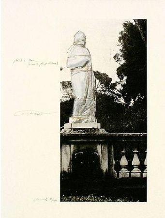 Lithographie Christo - Wrapped Venus