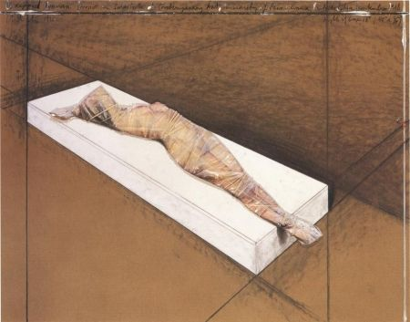Aucune Technique Christo - Wrapped Woman