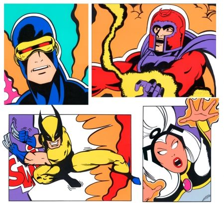 Sérigraphie Crash - X-Men Portfolio-