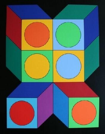 Sérigraphie Vasarely - XICO 5