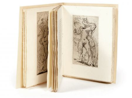 Livre Illustré Masson - XIMENÈS MALINJOUDE. 6 eaux-fortes d' André Masson (1927).