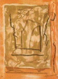 Lithographie Ràfols Casamada - Xipre-1