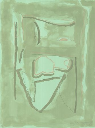 Lithographie Ràfols Casamada - Xipre-2