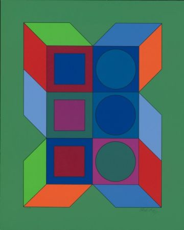 Multiple Vasarely - XLV