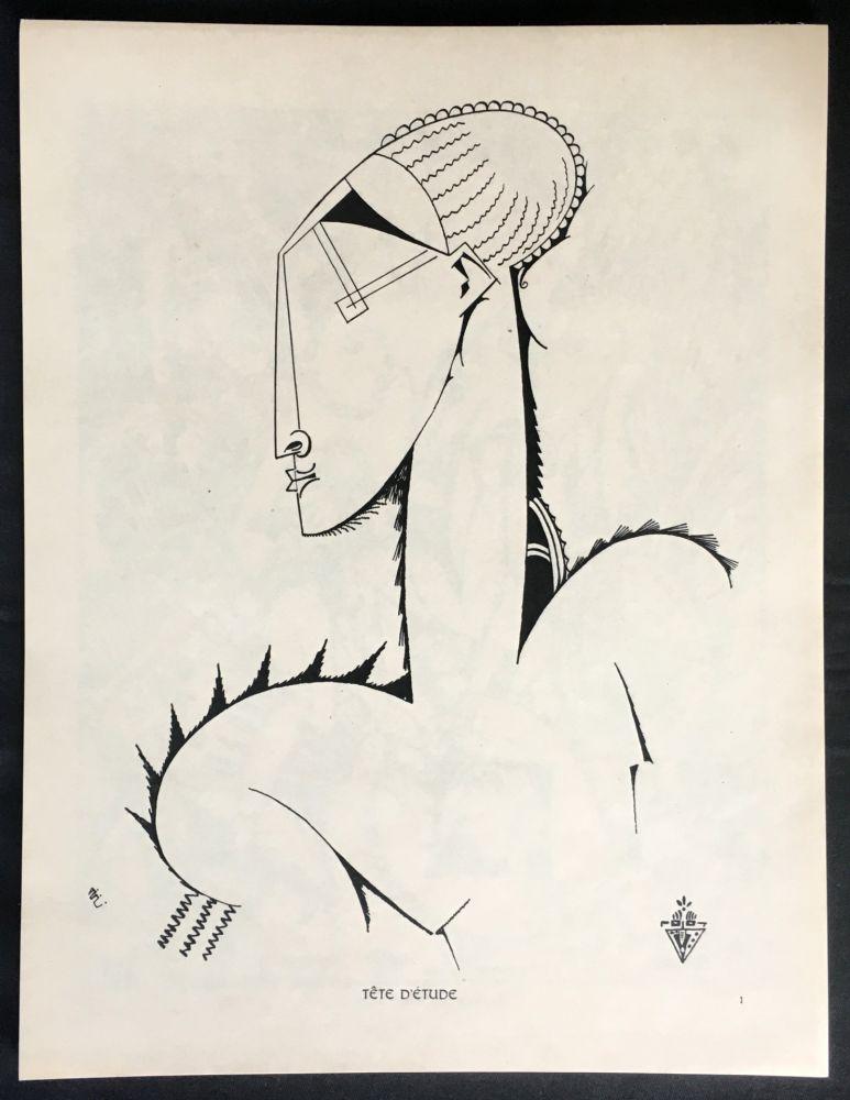 Livre Illustré De Souza-Cardoso - XX DESSINS. 1912
