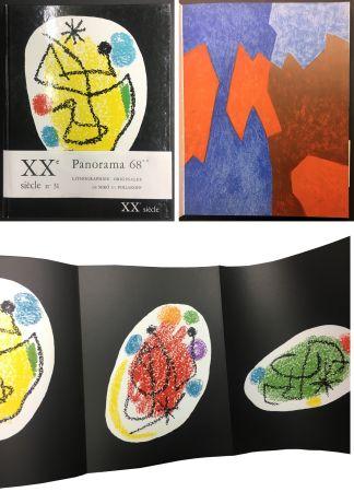 Livre Illustré Miró - XXe SIECLE. Nouvelle série. XXXe année. N° 31. Décembre 1968 - PANORAMA 68. LES GRANDES EXPOSITIONS