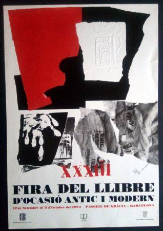 Affiche Clavé - XXXIII Fira del llibre d'ocasió antic i Modern