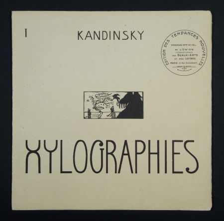 Livre Illustré Kandinsky - Xylographies