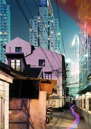 Sérigraphie Zielske - Yan 'an Donglu, Shanghai