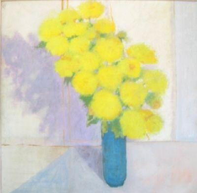 Aucune Technique Portway - Yellow Flowers