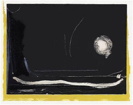 Lithographie Frankenthaler - Yellow Jack