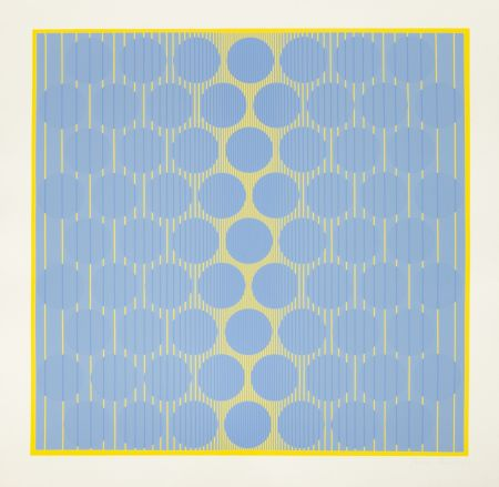 Sérigraphie Stanczak - Yellow One