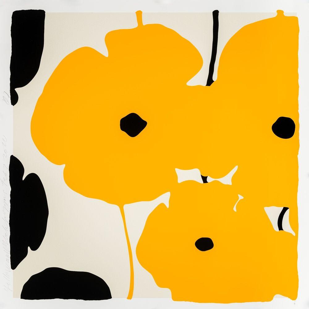 Sérigraphie Sultan - Yellow Poppies