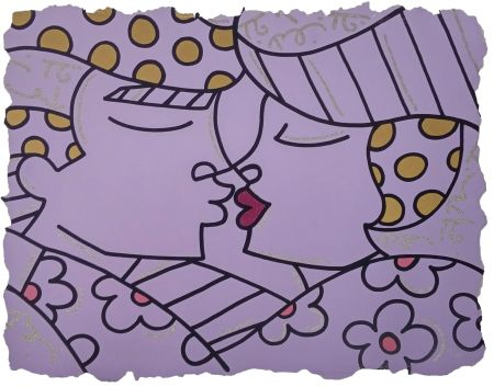 Sérigraphie Britto - YOU ARE SO WONDERFUL (PURPLE)
