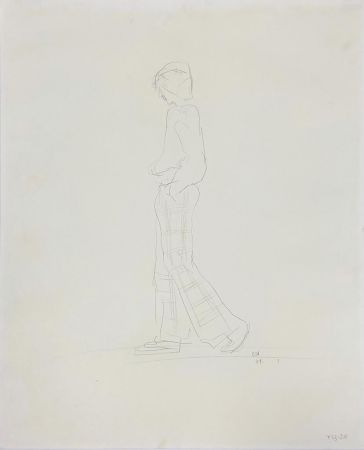 Aucune Technique Hockney - Yves (Walking)