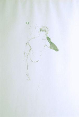 Lithographie Toulouse-Lautrec - Yvette Guilbert vue par Toulouse-Lautrec