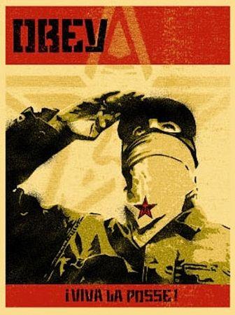 Sérigraphie Fairey - Zapatista Print