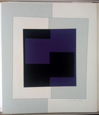 Sérigraphie Vasarely - Zara (Cristal)