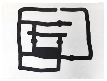 Gravure Chillida - Zedatu I