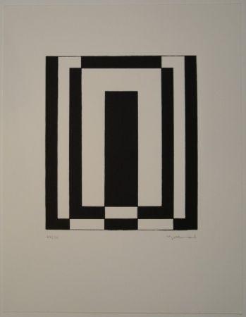 Lithographie Gebhard - Zeitzeichen