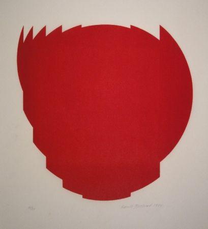 Gravure Sur Bois Bosshard - Zerlegung eines Kreises in 9 Teile