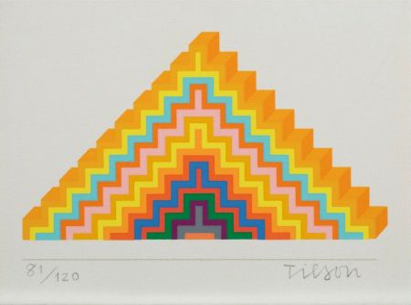 Sérigraphie Tilson - Ziggurath
