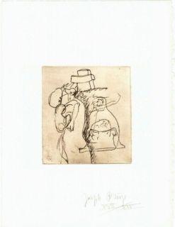 Gravure Beuys - Zirkulationszeit: Die Mütter