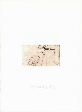 Pointe-Sèche Beuys - Zirkulationszeit: Kreuz für Saturn