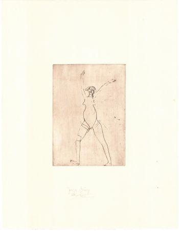 Gravure Beuys - Zirkulationszeit: Mädchen