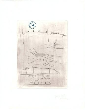 Gravure Beuys - Zirkulationszeit: Zirkulationszeit