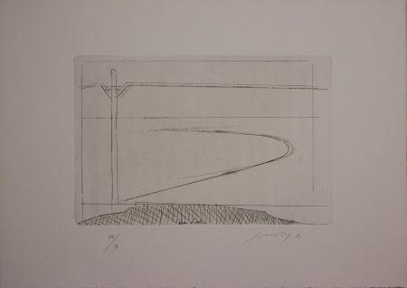 Eau-Forte Et Aquatinte Guccione - Zona d'ombra