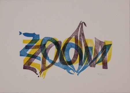 Lithographie Bury - Zoom