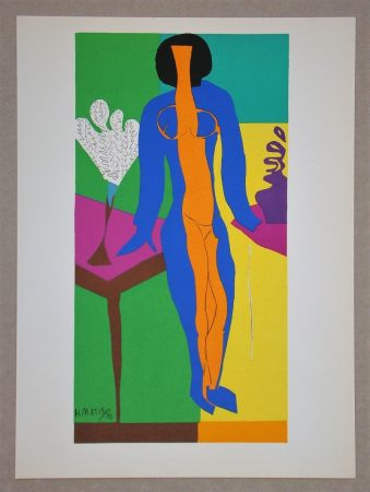 Lithographie Matisse (After) - Zulma - 1950