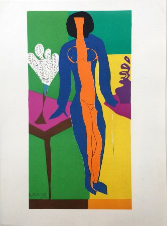 Lithographie Matisse - ZULMA (1950)