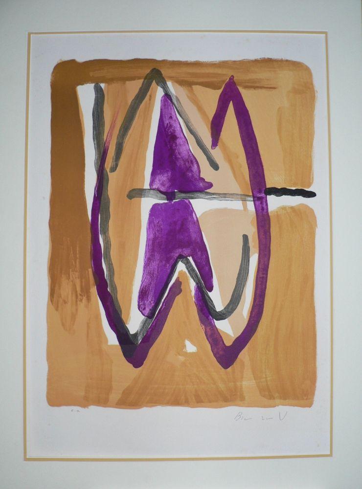 Lithographie Van Velde - Zurich