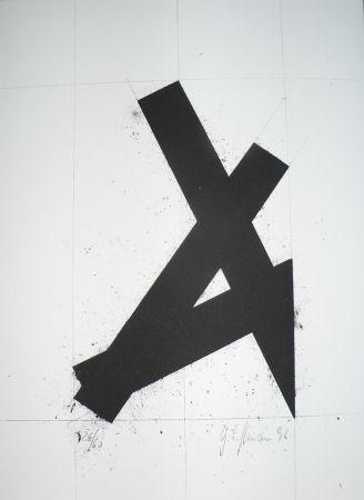 Lithographie Hoffmann - Zwart
