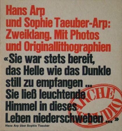 Livre Illustré Taeuber-Arp - Zweiklang