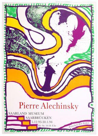Affiche Alechinsky - Zwischen den Zeilen